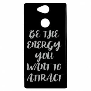 Etui na Sony Xperia XA2 Be the energy you want to attract