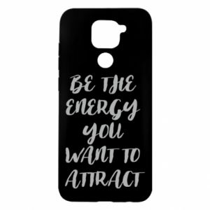 Etui na Xiaomi Redmi Note 9/Redmi 10X Be the energy you want to attract