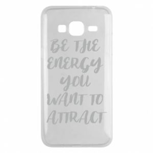 Etui na Samsung J3 2016 Be the energy you want to attract