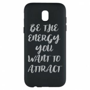 Etui na Samsung J5 2017 Be the energy you want to attract