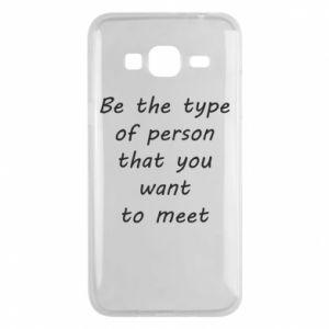 Etui na Samsung J3 2016 Be the type