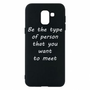 Etui na Samsung J6 Be the type
