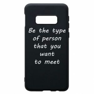 Etui na Samsung S10e Be the type