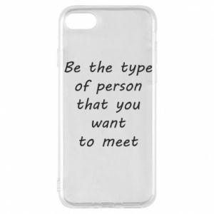 Etui na iPhone 7 Be the type