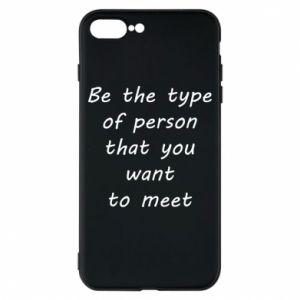 Etui na iPhone 8 Plus Be the type