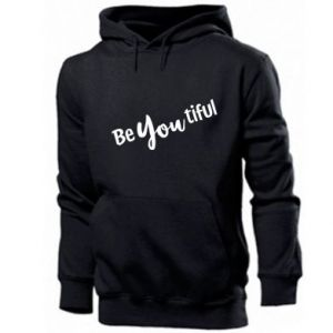 Męska bluza z kapturem Be you tiful