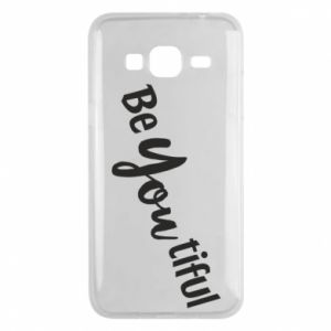 Etui na Samsung J3 2016 Be you tiful