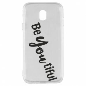 Etui na Samsung J3 2017 Be you tiful