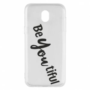 Etui na Samsung J5 2017 Be you tiful