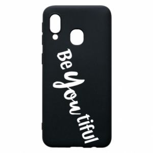 Etui na Samsung A40 Be you tiful