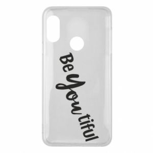 Etui na Mi A2 Lite Be you tiful