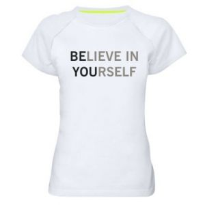 Women's sports t-shirt BE YOU