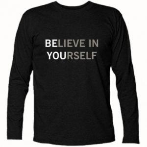 Koszulka z długim rękawem BE YOU - PrintSalon