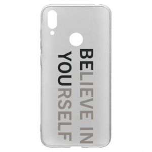 Huawei Y7 2019 Case BE YOU