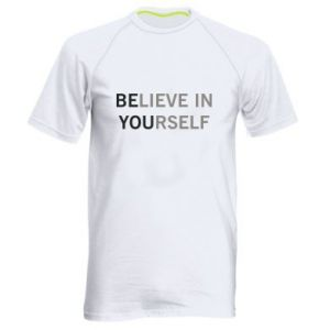 Men's sports t-shirt BE YOU