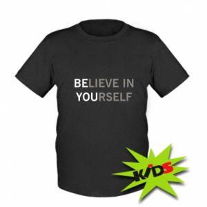 Dziecięcy T-shirt BE YOU - PrintSalon