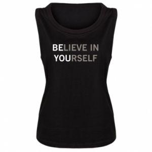 Damska koszulka BE YOU - PrintSalon