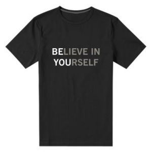 Męska premium koszulka BE YOU - PrintSalon