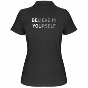 Women's Polo shirt BE YOU