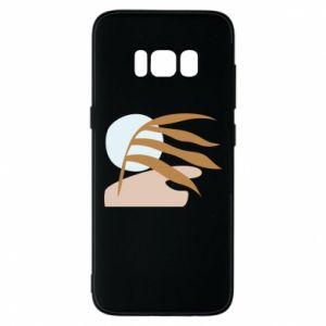 Etui na Samsung S8 Beach illustration