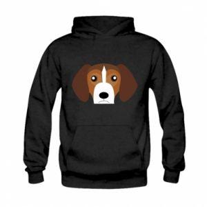 Bluza z kapturem dziecięca Beagle breed