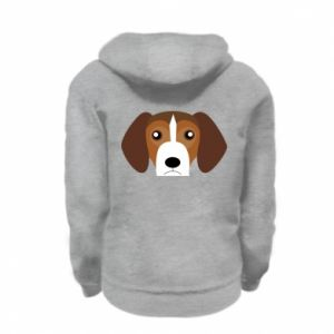 Bluza na zamek dziecięca Beagle breed