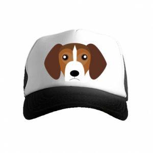 Czapka trucker dziecięca Beagle breed