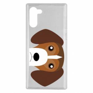 Etui na Samsung Note 10 Beagle breed