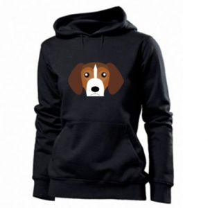 Women's hoodies Beagle breed - PrintSalon
