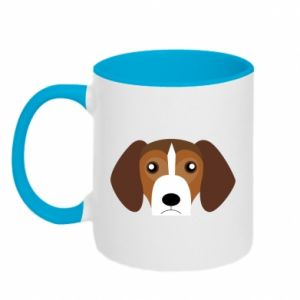 Two-toned mug Beagle breed - PrintSalon
