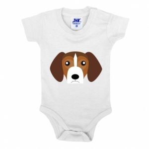 Baby bodysuit Beagle breed - PrintSalon