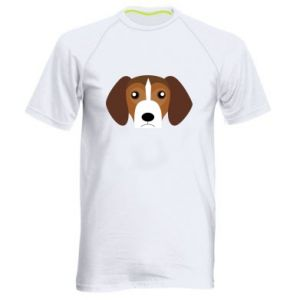 Men's sports t-shirt Beagle breed - PrintSalon