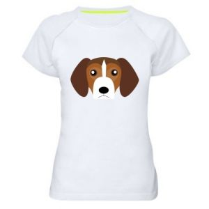 Women's sports t-shirt Beagle breed - PrintSalon