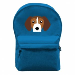Backpack with front pocket Beagle breed - PrintSalon