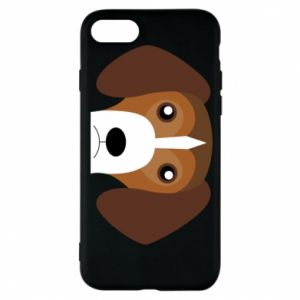 Phone case for iPhone 8 Beagle breed - PrintSalon