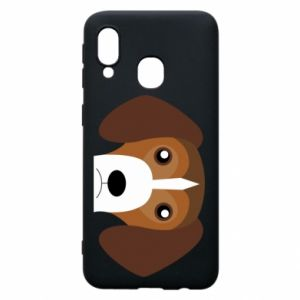 Phone case for Samsung A40 Beagle breed - PrintSalon
