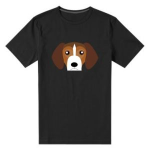 Men's premium t-shirt Beagle breed - PrintSalon