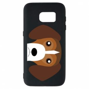 Phone case for Samsung S7 Beagle breed - PrintSalon