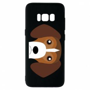 Phone case for Samsung S8 Beagle breed - PrintSalon