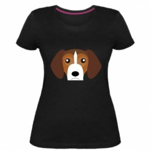 Women's premium t-shirt Beagle breed - PrintSalon