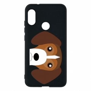 Phone case for Mi A2 Lite Beagle breed - PrintSalon