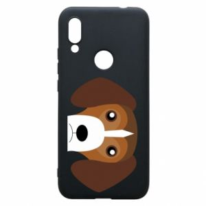 Phone case for Xiaomi Redmi 7 Beagle breed - PrintSalon