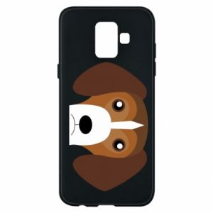 Phone case for Samsung A6 2018 Beagle breed - PrintSalon