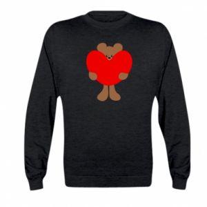 Bluza dziecięca Bear with a big heart