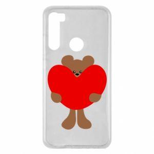 Etui na Xiaomi Redmi Note 8 Bear with a big heart