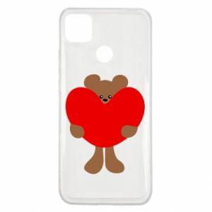 Etui na Xiaomi Redmi 9c Bear with a big heart
