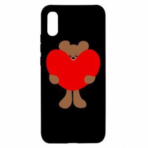 Etui na Xiaomi Redmi 9a Bear with a big heart