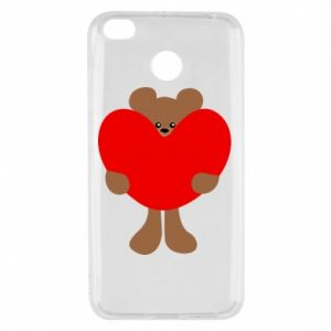 Etui na Xiaomi Redmi 4X Bear with a big heart