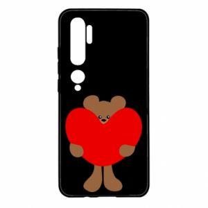 Etui na Xiaomi Mi Note 10 Bear with a big heart