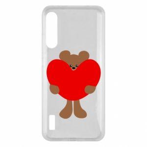 Etui na Xiaomi Mi A3 Bear with a big heart